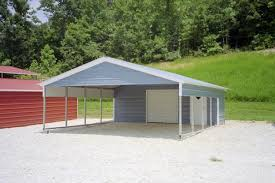Garage With Carport Steel Carport Kits Metal Carport Kits 595