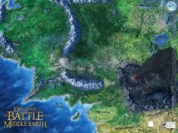 Map Of Mordor Hdr Seite De Der Herr Der Ringe Serie Filme Spiele Bücher