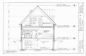 hand build architectural wood framework model house column with contents
