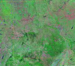 Missouri Road Map Missouri Satellite Images Landsat Color Image