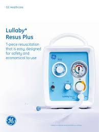 lullaby resus plus ge healthcare pdf catalogue technical