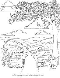 coloring pages for kids by mr adron printable autumn harvest