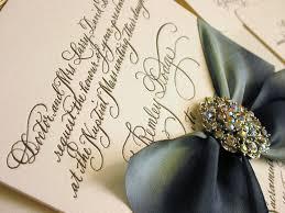 diy calligraphy wedding invitation wording to print yourself