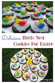 bird u0027s nest cookies are cute easter desserts