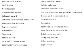 time employment contracts template