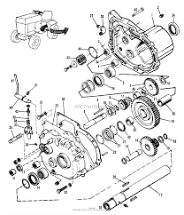 simplicity 1600258 410 10hp 3 speed gear parts diagram for
