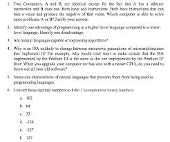 convert this decimal numbers to 8 bit 2 u0027 complemen chegg com