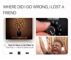 Text Message Meme 001 Wrong - where did i go wrong i lost a friend hew to soave a life 422 001