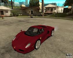police ferrari enzo ferrari enzo 2003 v 2 final for gta san andreas