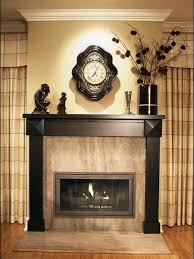 Wood Mantel Shelf Pictures by Interior Astounding Picture Of Living Room Decoration Using Black