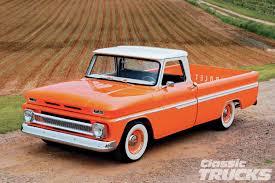 Classic Chevrolet Trucks - 1966 chevy c10 orange twist rod network