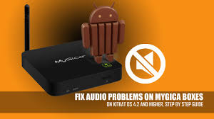 how to fix sound problem on mygica boxes 101 youtube