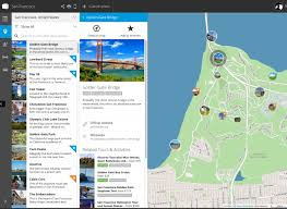 Custom Maps Tripomatic Custom Maps Focus On The Features Tourists Really