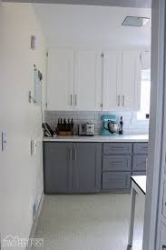 New Cabinet Doors How To Make Shaker Cabinet Doors From Flat Fronts Shaker