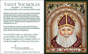 prayer cards st nicholas center prayer cards