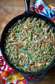 green bean skillet casserole dairy free vegan option simply