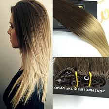 beaded hair extensions micro bead weft ez easy weft remy ombre human hair extensions