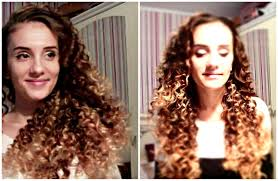 how to get spiral afro curls with straws no heat curls overnight