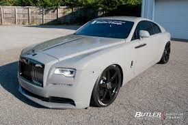 rolls royce van rolls royce wraith with 22in avant garde pvt6 wheels exclusively