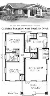 california style bungalow vintage small house plans 780 sq ft