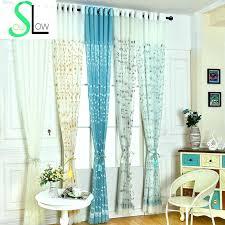 Seafoam Green Sheer Curtains Cool Blue Green Sheer Curtains Designs With Blue Green Sheer