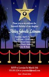 red carpet party invitations ideas red carpet birthday party