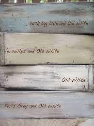 annie sloan chalk paint colors duck egg blue old white