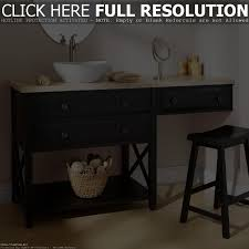 Bathroom Vanity Makeup Area by Bathroom Vanity With Makeup Table Home Vanity Decoration
