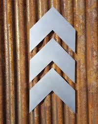 chevron decor fixer upper style sign metal rustic home decor