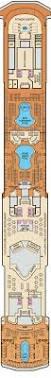 carnival sunshine floor plan carnival spirit lido deck plan tour