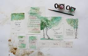 garden wedding invitations watercolor garden wedding invitations weddings and wedding