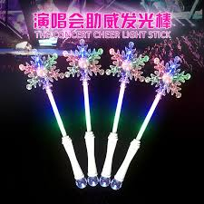 christmas sticks with lights led snowflake wand led flashing stick manufacturer supplier china