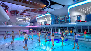 full size rollerskating rink awaits you within seaplex the