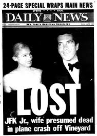 john f kennedy jr went missing after a flight in 1999 ny daily