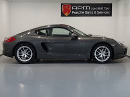 porsche cayman 2015 grey for sale porsche 981 cayman 2 7 pdk rpm specialist cars