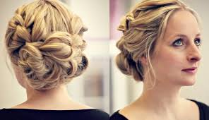 updo hairstyle prom braided updo hairstyle for mediumlong hair
