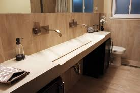 Double Vanity Basins Bath Remodel Colorado Concrete Sinks Concrete Vanity Vessel Sinks