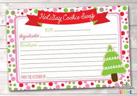 recipe cards u2013 erin bradley ink obsession designs