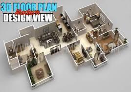 modern floor plan 3d floor plan design 3d floor plan yantram studio