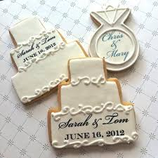 engagement favors engagement ring cookie favor the sugar chic