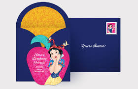 snow white birthday invitations u2013 gangcraft net