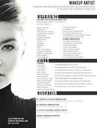 makeup artist resume template gfyork com