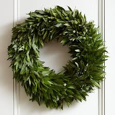 bay leaf wreath williams sonoma