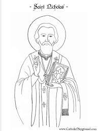 saint nicholas coloring st nicholas saint