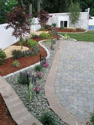 Backyard Trees Landscaping Ideas 23 Best Front Yard Images On Pinterest Brick Edging Gardening