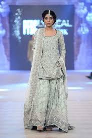 indian light blue latest wedding bridal sharara designs 2015 2016