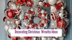 decorating christmas wreaths ideas youtube
