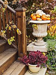 Small Pumpkins Decorating Ideas Fall Outdoor Decorating From Halloween To Thanksgiving