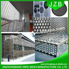jzb perforated laser cut metal outdoor balcony screen buy