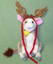 annabelle s christmas wish annabelle s wish 18 reindeer cow plush stuffed animal christmas